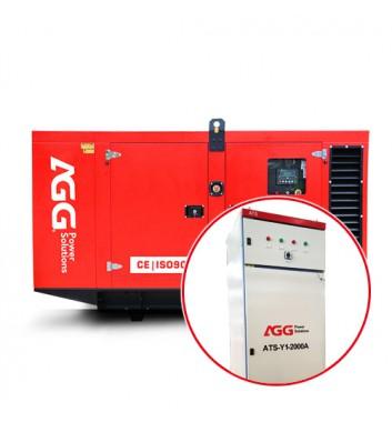 Дизельная электростанция DE33D5 в кожухе c АВР